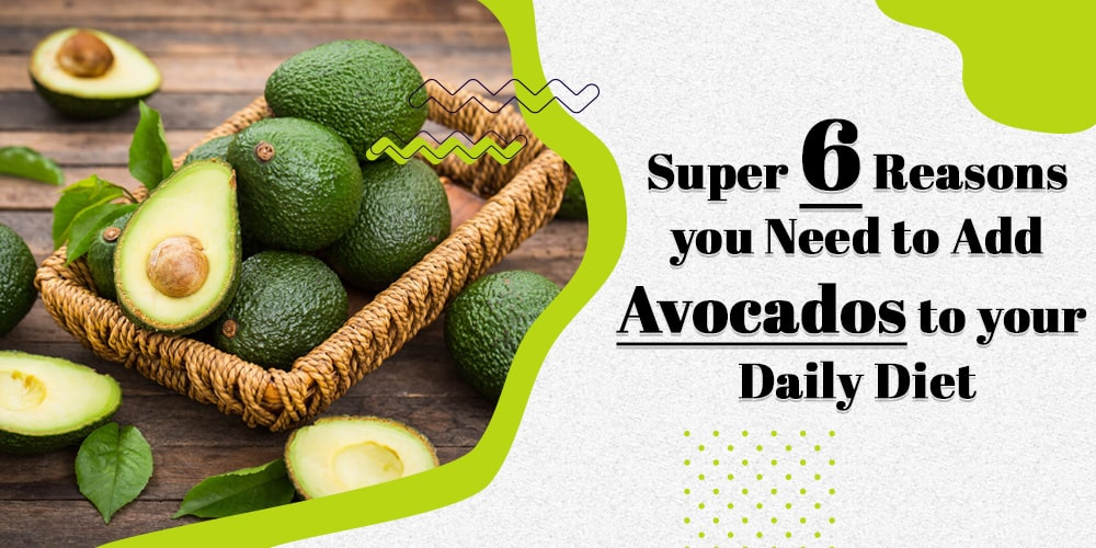 Super 6 Reasons you Need to Add Avocados to your Daily Diet