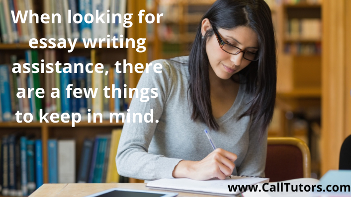 when lookin for essay writing assistance there are a few things